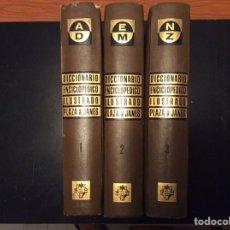 Enciclopedias de segunda mano: DICCIONARIO ENCICLOPÉDICO ILUSTRADO PLAZA&JANES ( 3 TOMOS ). Lote 276045623