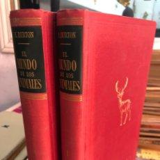 Livros em segunda mão: 1955 - COMPLETA - EL MUNDO DE LOS ANIMALES 2 TOMOS MAURICE BURTON EDITORIAL LABOR - 1ª EDICIÓN. Lote 276537748