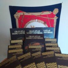 Enciclopedias de segunda mano: ATLAS Y ENCICLOPEDIA. Lote 277577273