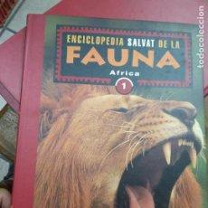 Enciclopedias de segunda mano: LIBRO ENCICLOPEDIA SALVAT DE LA FAUNA Nº1 ÁFRICA ED. SALVAT ART-548-1062. Lote 278805588