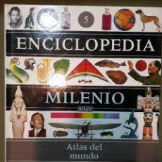 Enciclopedias de segunda mano: ENCICLOPEDIA MILENIO: 5 TOMOS. Lote 278811288