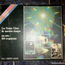 Enciclopedias de segunda mano: LOS TEMAS CLAVE DE NUESTRO TIEMPO UN RETO, 100 RESPUESTAS. Lote 278841128