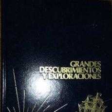 Enciclopedias de segunda mano: GRANDES DESCUBRIMIENTOS Y EXPLORACIONES: EL MUNDO GLACIAL TOMO 13.. Lote 278966503