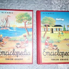 Enciclopedias de segunda mano: ENCICLOPEDIA ÁLVAREZ, INTUITIVA, SINTÉTICA Y PRÁCTICA, TERCER GRADO, VOLUMEN I Y II. Lote 279330163