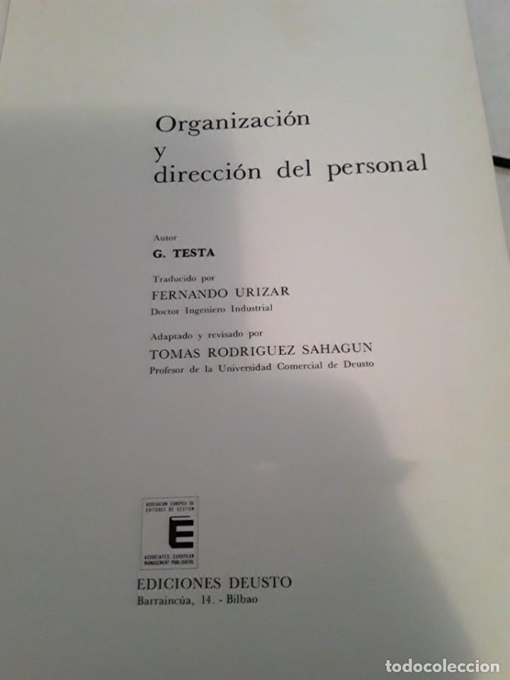 Enciclopedias de segunda mano: BIBLIOTECA DEUSTO DE DIRECCION Y ORGANIZACION.7 TOMOS.EDICIONES DEUSTO.1973. - Foto 2 - 283501853