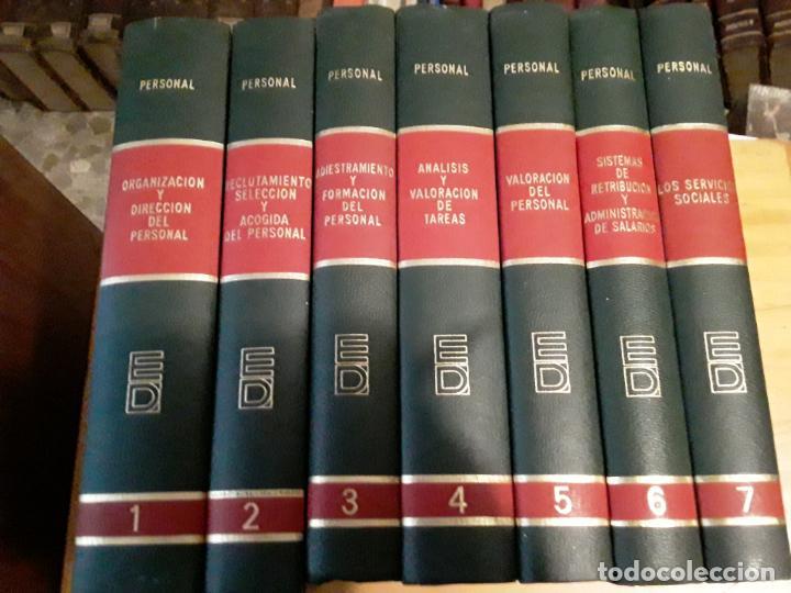 BIBLIOTECA DEUSTO DE DIRECCION Y ORGANIZACION.7 TOMOS.EDICIONES DEUSTO.1973. (Libros de Segunda Mano - Enciclopedias)