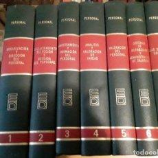 Enciclopedias de segunda mano: BIBLIOTECA DEUSTO DE DIRECCION Y ORGANIZACION.7 TOMOS.EDICIONES DEUSTO.1973.. Lote 283501853