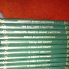 Enciclopedias de segunda mano: COMPLETA 17 TOMOS NATIONAL GEOGRAPHIC EL MARAVILLOSO MUNDO DE LOS ANIMALES TAPA DURA BUEN ESTADO. Lote 284526943