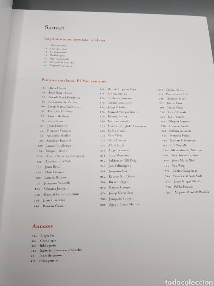 Enciclopedias de segunda mano: PINTURA CATALANA EL MODERNISME GRAN GRUP ENCICLOPEDIA CATALANA MODERNISMO GRAN FORMATO 2016 FONTBONA - Foto 7 - 285392553