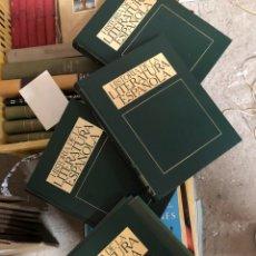 Enciclopedias de segunda mano: HISTORIA DE LA LITERATURA ESPAÑOLA - CUATRO TOMOS 1982 - ORBIS. Lote 285690428