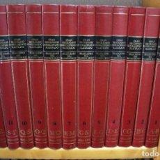 Enciclopedias de segunda mano: GRAN DICCIONARIO ENCICLOPÉDICO ILUSTRADO SELECCIONES 12 TOMOS. Lote 286184753