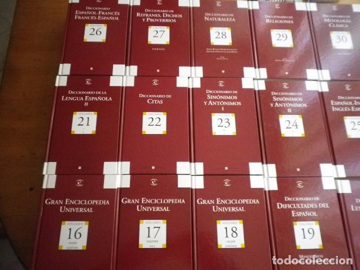 Enciclopedias de segunda mano: ENCICLOPEDIA ESPASA CALPE 30 TOMOS - Foto 2 - 286187738