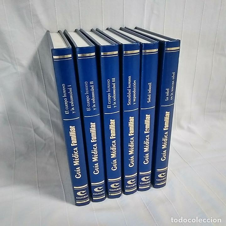 GUÍA MÉDICA FAMILIAR - 6 VOLÚMENES (Libros de Segunda Mano - Enciclopedias)