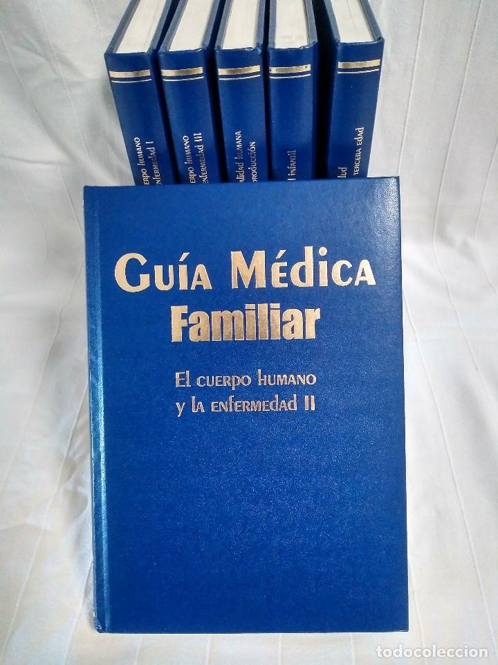 Enciclopedias de segunda mano: GUÍA MÉDICA FAMILIAR - 6 volúmenes - Foto 6 - 286194068