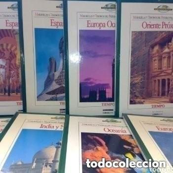 Enciclopedias de segunda mano: COLECC.COMPLETA, MARAVILLAS Y TESOROS D PATRIMONIO D LA HUMANIDAD, REV.TIEMPO+ CARTA FELIPE P. ASTUR - Foto 3 - 287372468