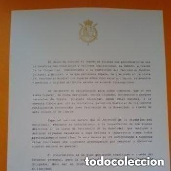 Enciclopedias de segunda mano: COLECC.COMPLETA, MARAVILLAS Y TESOROS D PATRIMONIO D LA HUMANIDAD, REV.TIEMPO+ CARTA FELIPE P. ASTUR - Foto 4 - 287372468