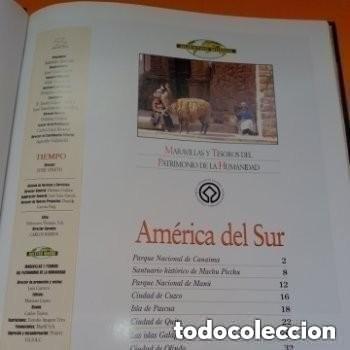 Enciclopedias de segunda mano: COLECC.COMPLETA, MARAVILLAS Y TESOROS D PATRIMONIO D LA HUMANIDAD, REV.TIEMPO+ CARTA FELIPE P. ASTUR - Foto 6 - 287372468