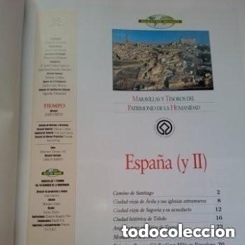 Enciclopedias de segunda mano: COLECC.COMPLETA, MARAVILLAS Y TESOROS D PATRIMONIO D LA HUMANIDAD, REV.TIEMPO+ CARTA FELIPE P. ASTUR - Foto 7 - 287372468