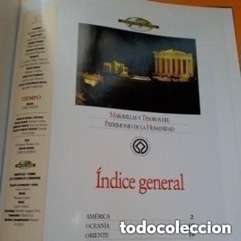Enciclopedias de segunda mano: COLECC.COMPLETA, MARAVILLAS Y TESOROS D PATRIMONIO D LA HUMANIDAD, REV.TIEMPO+ CARTA FELIPE P. ASTUR - Foto 9 - 287372468