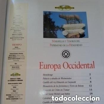 Enciclopedias de segunda mano: COLECC.COMPLETA, MARAVILLAS Y TESOROS D PATRIMONIO D LA HUMANIDAD, REV.TIEMPO+ CARTA FELIPE P. ASTUR - Foto 11 - 287372468