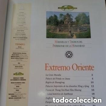 Enciclopedias de segunda mano: COLECC.COMPLETA, MARAVILLAS Y TESOROS D PATRIMONIO D LA HUMANIDAD, REV.TIEMPO+ CARTA FELIPE P. ASTUR - Foto 12 - 287372468