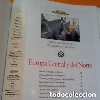 Enciclopedias de segunda mano: COLECC.COMPLETA, MARAVILLAS Y TESOROS D PATRIMONIO D LA HUMANIDAD, REV.TIEMPO+ CARTA FELIPE P. ASTUR - Foto 13 - 287372468