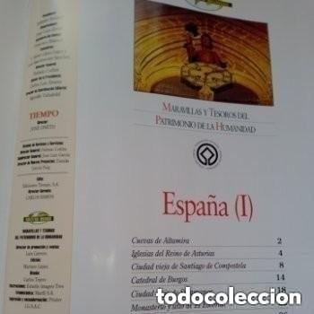 Enciclopedias de segunda mano: COLECC.COMPLETA, MARAVILLAS Y TESOROS D PATRIMONIO D LA HUMANIDAD, REV.TIEMPO+ CARTA FELIPE P. ASTUR - Foto 14 - 287372468