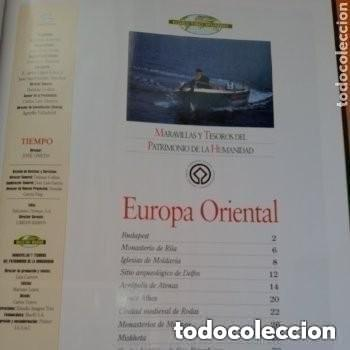 Enciclopedias de segunda mano: COLECC.COMPLETA, MARAVILLAS Y TESOROS D PATRIMONIO D LA HUMANIDAD, REV.TIEMPO+ CARTA FELIPE P. ASTUR - Foto 16 - 287372468