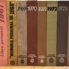 Enciclopedias de segunda mano: DIFUSORA INTERNACIONAL, MEMORANDOS COMPLETOS MURANO 1966-1975. 10 VOLS., ÍNDICE Y DISCOS VINILO.. Lote 288909938