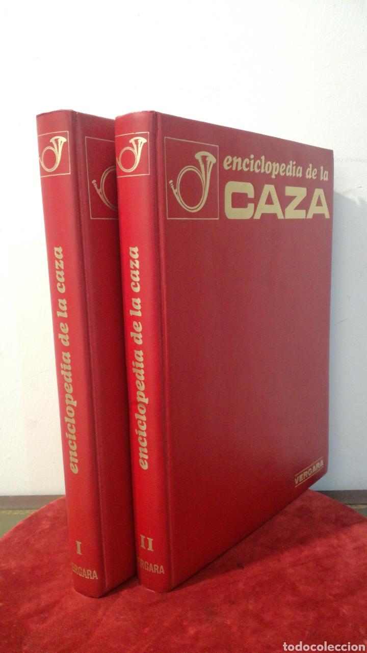 ENCICLOPEDIA DE LA CAZA - 2 TOMOS - VERGARA (Libros de Segunda Mano - Enciclopedias)