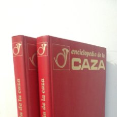 Enciclopedias de segunda mano: ENCICLOPEDIA DE LA CAZA - 2 TOMOS - VERGARA. Lote 288947608