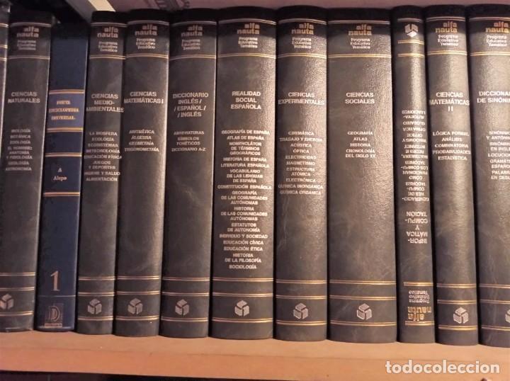 ALFA NAUTA PROGRAMA EDUCATIVO TEMÁTICO. ESO, LOGSE. EDICIONES NAUTA, 2000. 14 TOMOS. (Libros de Segunda Mano - Enciclopedias)