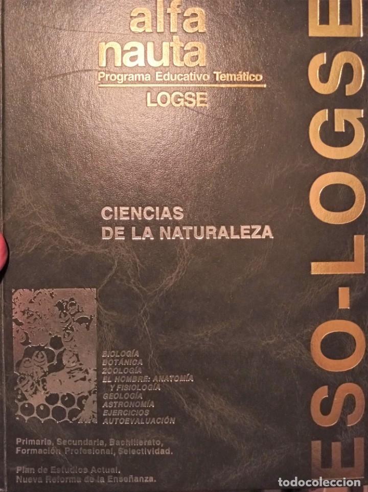 Enciclopedias de segunda mano: Alfa Nauta Programa Educativo Temático. ESO, LOGSE. Ediciones Nauta, 2000. 14 Tomos. - Foto 3 - 289590543