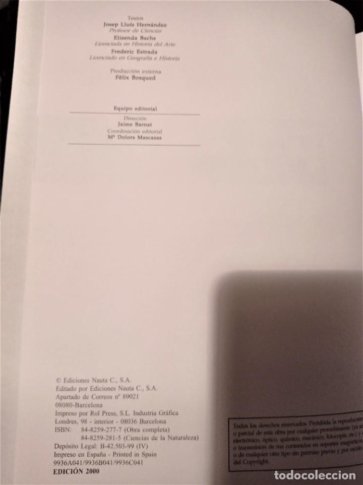 Enciclopedias de segunda mano: Alfa Nauta Programa Educativo Temático. ESO, LOGSE. Ediciones Nauta, 2000. 14 Tomos. - Foto 5 - 289590543