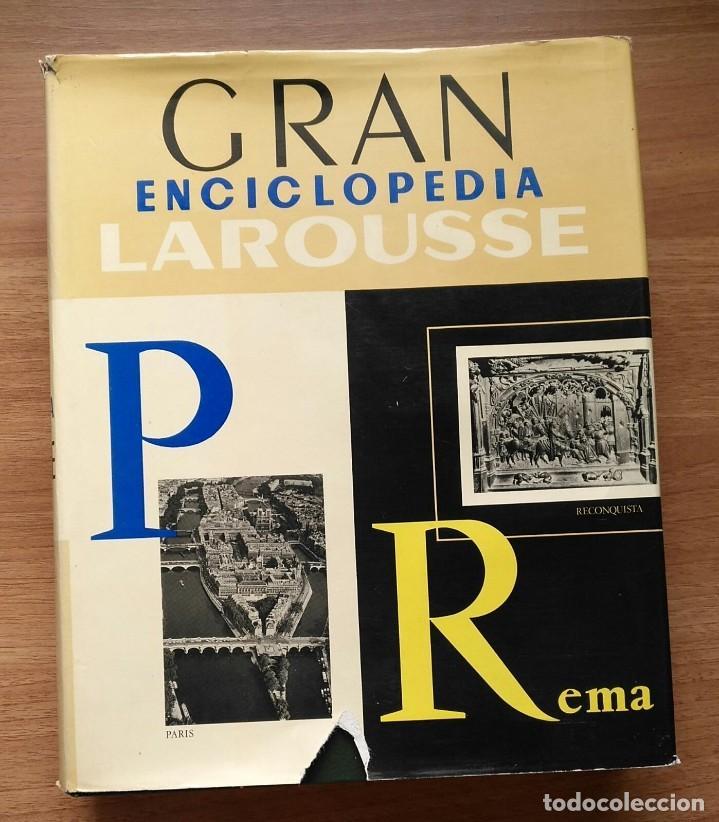 Enciclopedias de segunda mano: Gran enciclopedia LAROUSSE - 10 volúmenes + suplemento - Foto 2 - 289740098