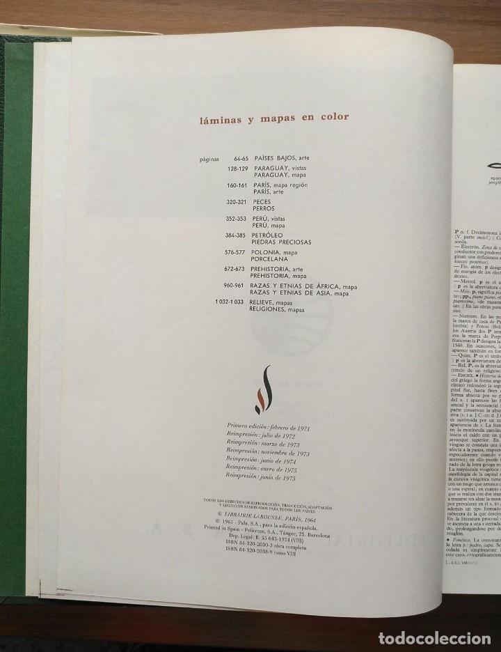 Enciclopedias de segunda mano: Gran enciclopedia LAROUSSE - 10 volúmenes + suplemento - Foto 8 - 289740098