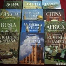 Enciclopedias de segunda mano: ATLAS CULTURALES DEL MUNDO. CÍRCULO DE LECTORES. EDICIONES FOLIO. AÑO 1990. 12 TOMOS. Lote 291976618