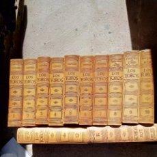 Libri di seconda mano: ENCICLOPEDIA EL COSSIO 12 TOMOS TRATADO TÉCNICO-HISTÓRICO DE LA TAUROMAQUIA. Lote 293591888