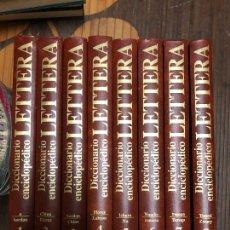 Enciclopedias de segunda mano: DICCIONARIO ENCICLOPEDICO LETTERA 8 TOMOS, COMPLETA. Lote 293905758