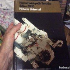 Enciclopedias de segunda mano: NUEVA ENCICLOPEDIA TEMATICA BIBLOS 2000 HISTORIA UNIVERSAL. Lote 294111953