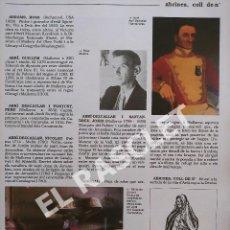 Enciclopedias de segunda mano: ANTIGÜA GRAN ENCICLOPEDIA DE MALLORCA - VOLUMEN 1 - DE LA PAGINA 17 A LA PAGINA 32. Lote 295335868