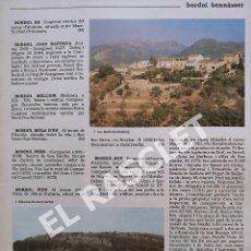 Enciclopedias de segunda mano: ANTIGÜA GRAN ENCICLOPEDIA DE MALLORCA - VOLUMEN 1 - DE LA PAGINA 209 A LA PAGINA 224. Lote 295487848