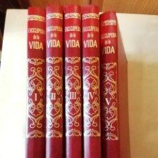 Enciclopedias de segunda mano: ENCICLOPEDIA DE LA VIDA 5 TOMOS EDITORIAL BRUGUERA 1982 COMPLETA. Lote 295794638