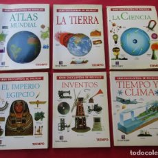 Enciclopedias de segunda mano: 6 LIBROS DE LA ´GRAN ENCICLOPEDIA DE BOLSILLO´. 160 PÁGINAS POR LIBRO. ILUSTRACIONES. 13 X 9,5 CM.. Lote 296785608