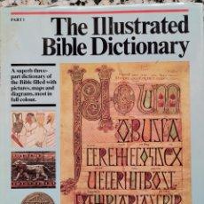 Enciclopedias de segunda mano: THE ILLUSTRATED BIBLE DICTIONARY PART 1. Lote 297040388