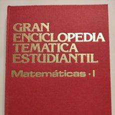 Enciclopedias de segunda mano: GRAN ENCICLOPEDIA TEMATICA ESTUDIANTIL - 6 TOMOS. Lote 297110498