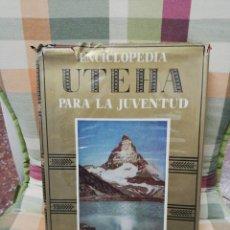 Enciclopedias de segunda mano: TOMO 2 ENCICLOPEDIA PARA LA JUVENTUD UTEHA - MONTANER Y SIMÓN EDITORES 1960. Lote 297120538