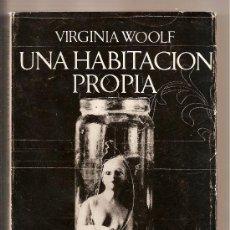 Libros de segunda mano: 1967. VIRGINIA WOOLF. UNA HABITACION PROPIA. SEIX BARRAL. PRIMERA EDICION. ENSAYO, FEMINISMO.. Lote 9700395