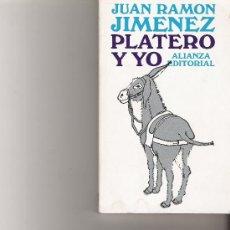 Libros de segunda mano: PLATERO Y YO - ALIANZA -. Lote 16443291