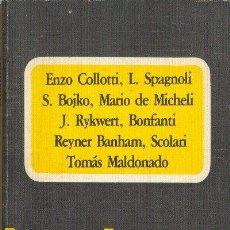 Libros de segunda mano: BAUHAUS VARIOS AUTORES COMUNICACIÓN 1980 COLOMBIA. Lote 26243611